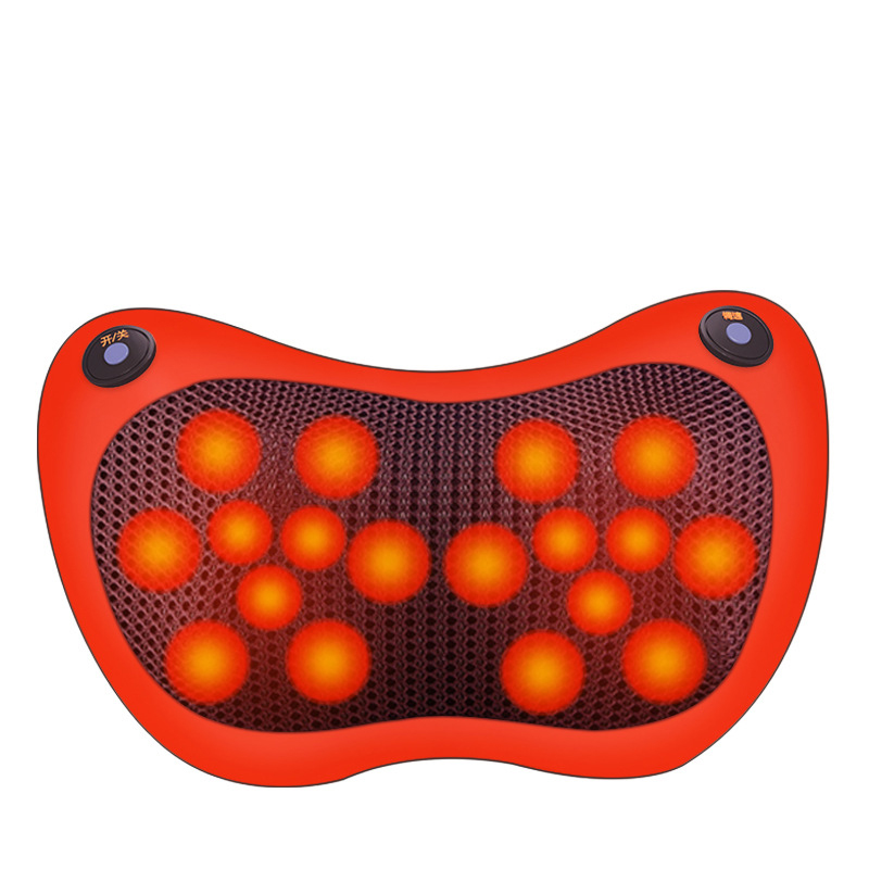 Car and Home Massage Pillow Smart Electric Neck Massager Car Pillow Cushion Massager Relaxation Massage Pillows for Lower Back
