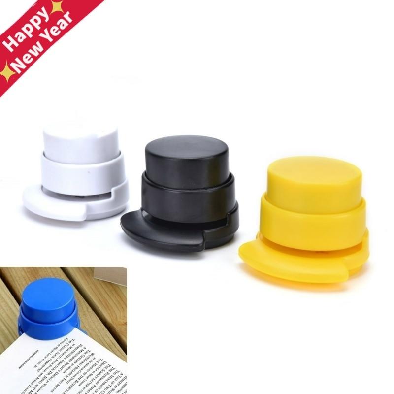 HOT Office Staple Free Stapleless Stapler Home Paper Binding Binder Paperclip Size: 5*5.7cm