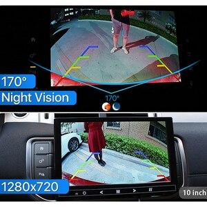 Image 5 - HD AHD 1080P 170 Grad Fisheye Objektiv Auto Hintere Ansicht rückseite Stamm Griff Kamera Für VW Passat Golf polo Jetta Audi A4 A6