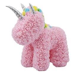 Unicorn Soap Flowers Christmas Gift for children