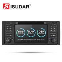 Isudar 2 Din Auto Radio Android 9 For BMW 5 Series/X5 E53 E39 CANBUS Car Multimedia Video DVD Player GPS Navigation USB DVR FM