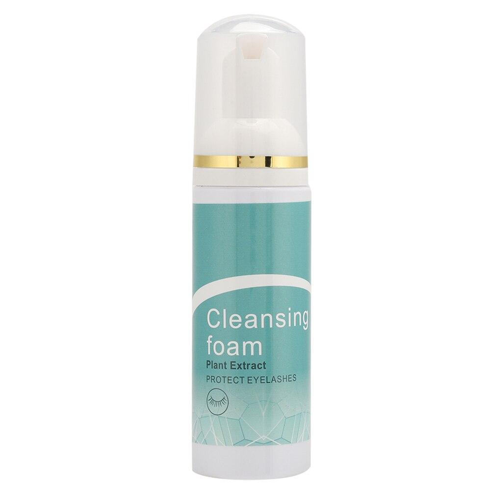 70ml Mild No Stimulation Eyelash Foam Cleanser Grafting Eyelash Cleaning Cosmetic Tool Graft Eyelash Remover Foam Eye Cleansing