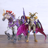 Play Arts Kai FF13 Final Fantasy XIII Odin with Sleipnir Action Figure PVC Model Toy Figurals