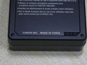 Image 2 - แบตเตอรี่ลิเธียมแบตเตอรี่ชาร์จสำหรับกล้อง Canon EOS 700D/650D/600D/550D LP E8 แบตเตอรี่