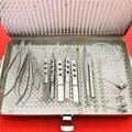 21 шт набор катаракты для глаз с стерилизационным лотком cas двухуровневые офтальмологические хирургические инструменты