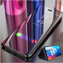 Smart mi rror флип чехол для спортивной камеры Xiao mi Red mi Note 8 7 K20 5 6 iPad Pro 8T 8A 4X 7A 5 Plus S2 mi обратите внимание; размеры 9 и 10 SE A3 Lite CC9e 9T 9 Pro крышка