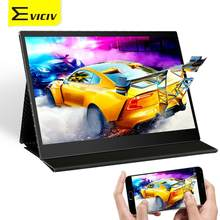 Eviciv 13.3 Touch Screen for Mobile Game Xbox PS Switch Need For Speed 60Hz 16:9 IPS Display 1080P Portable Monitor Laptop HDMI(China)