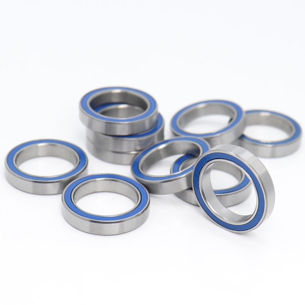 Metal Shielded High Precision Ball Bearing 15x21x4 mm 10 PCS 6702ZZ