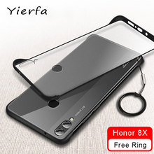 Honor 8X Caso Frameless Copertura Opaca Trasparente Per Huawei Honor 8 X Custodia In Silicone Protettiva Del Respingente Per Huawei Honor 8X custodie