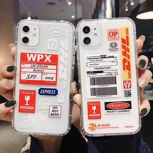 DHL Hot Express 50th Anniversary Edition Label case for iPhone 11 11Pro X XS MAX 7 8