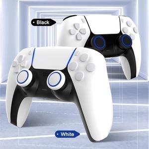 Image 3 - Capuchons dextension de poignée de pouce pour manette PS5, 4 pièces, couverture antidérapante en Silicone pour Playstation ps5