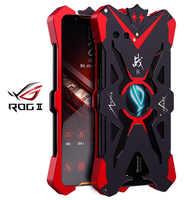 For ASUS ROG Phone 2 II ZS660KL Original ZIMON Shockproof Heavy Duty Armor Metal Aluminum Phone Case