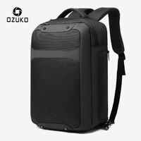 OZUKO Anti Theft Men 15.6 inch Laptop Backpack USB Charging Waterproof Backpacks Casual Male Travel Bag Large Capacity Mochila|Backpacks| |  -