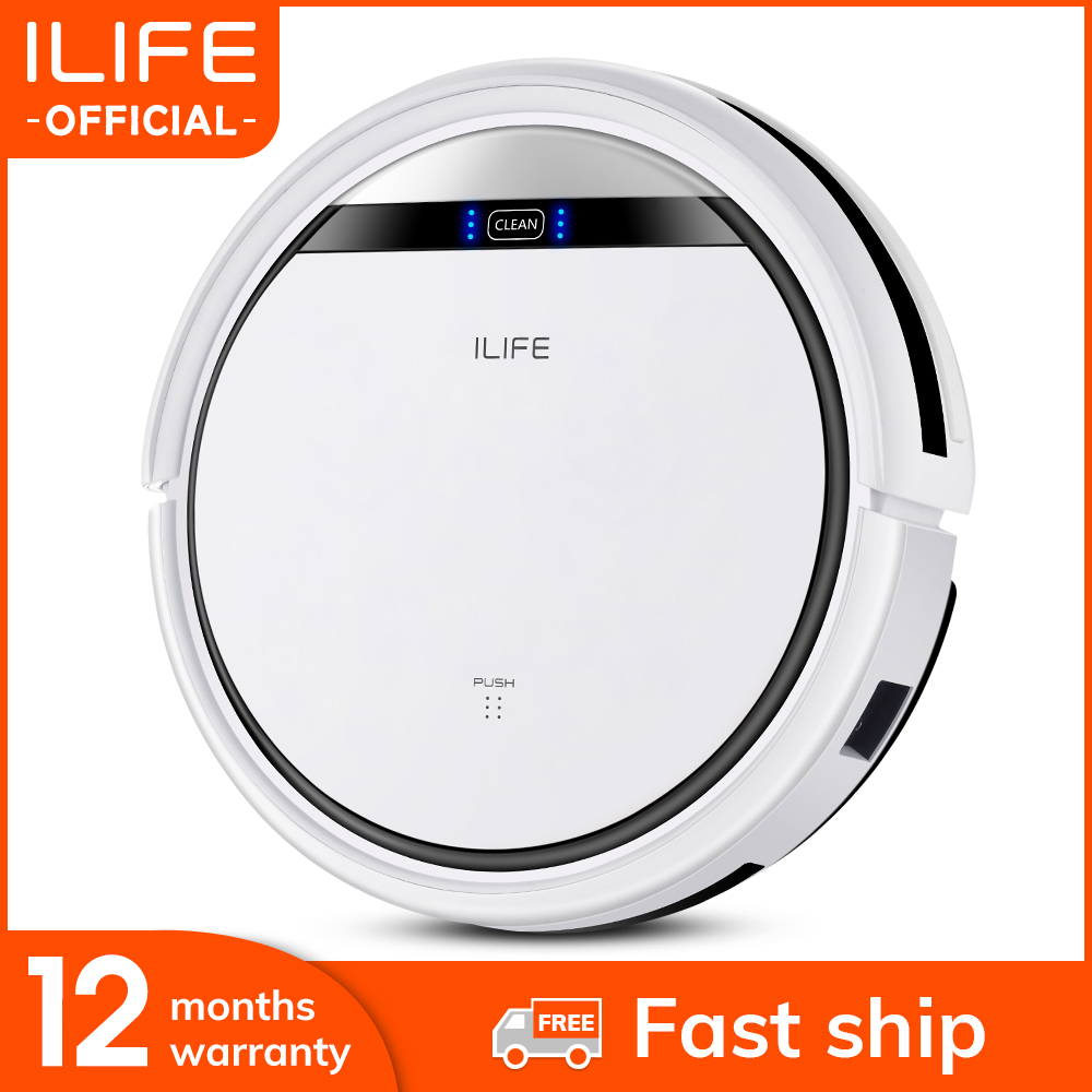 Robot-Vacuum-Cleaner Sweeping-Machine Pet-Hair Professional Automatic Recharge Ilife V3s