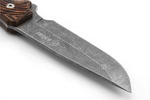 Image 3 - 8cr13mov aço faca de caça forjamento afiada tático em linha reta couro casos para selfdefense survial escalada equitação acampamento