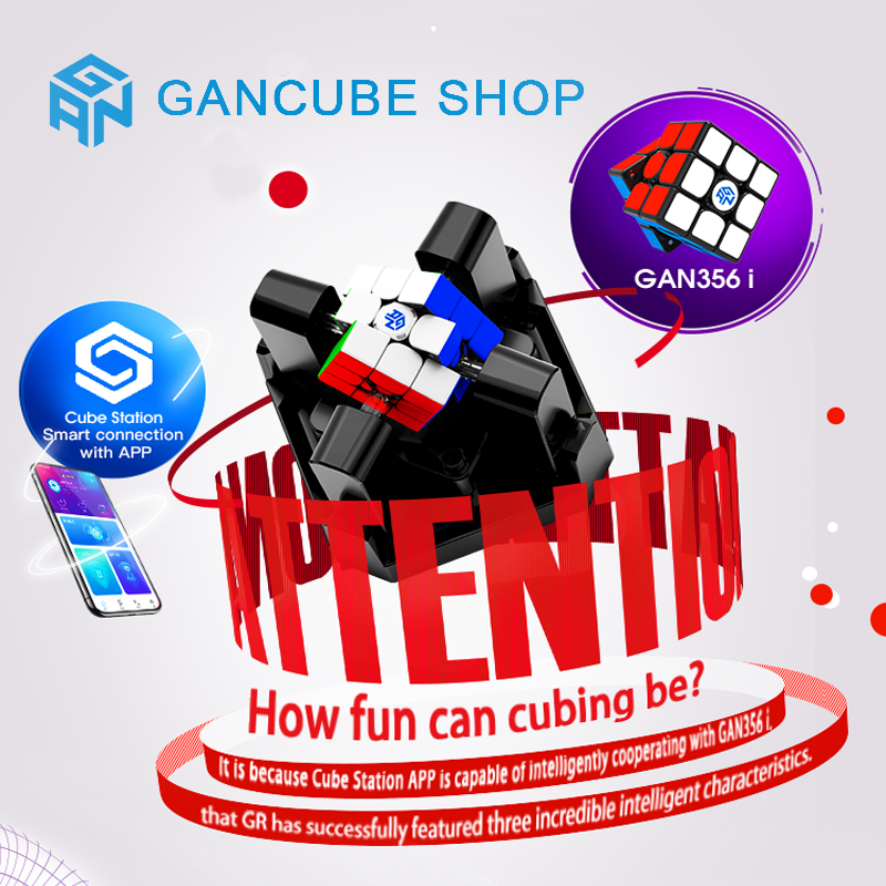 New GAN Robot 3x3x3 GAN 356 Magic Cube Station App GAN 356 I Magnets Online Competition GAN356 Puzzle Cubo Magico Gans Neo Cube