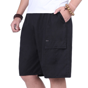 2019 Mens Cotton Shorts Calf-Length Fitness Casual Sporting Short Pants Sweatpants Sportswear
