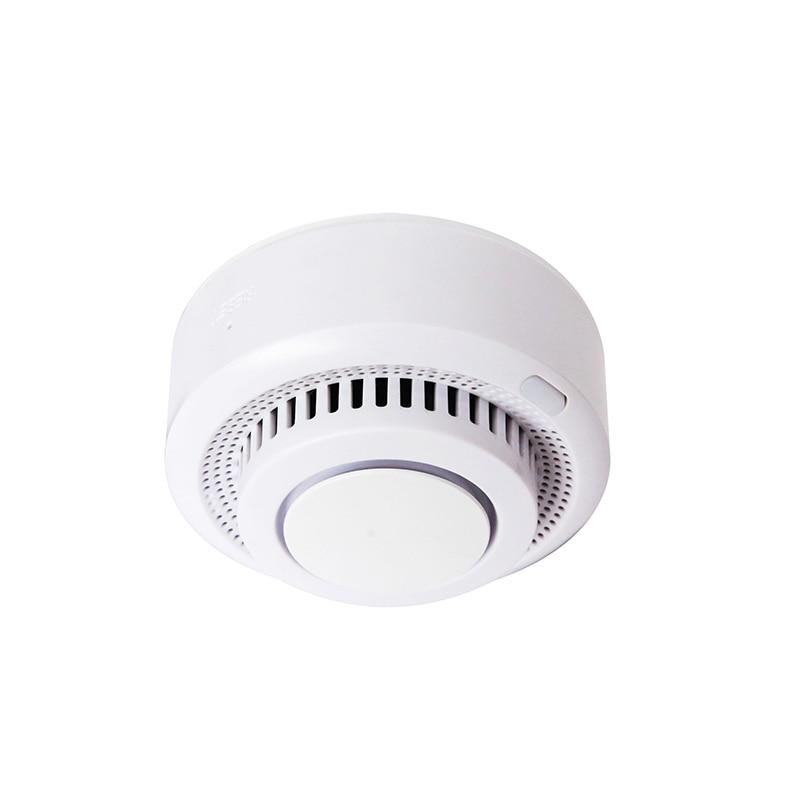 Mini Tuya APP Remote Control Wifi Standalone Smoke Detector Smart Home Battery Powered Wireless Alarm Smoke Sensor Easy Install