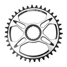 Liga de alumínio do disco de corrente de 12 velocidades único chainring para m7100/8100/9100 ultra-leve anti-ferrugem peças de bicicleta