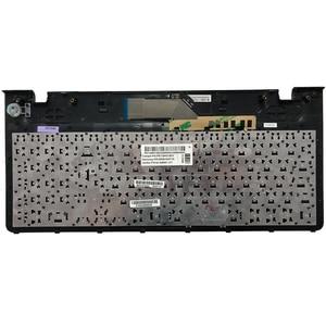 Image 5 - لوحة مفاتيح الكمبيوتر المحمول الروسية مع الإطار لسامسونج NP 355E5C NP355V5C NP300E5E NP350E5C NP350V5C BA59 03270C RU