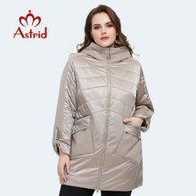 Women Jacket Clothing Spring Plus-Size Outerwear Fashion Coat Mid-Length Astrid AM-8612