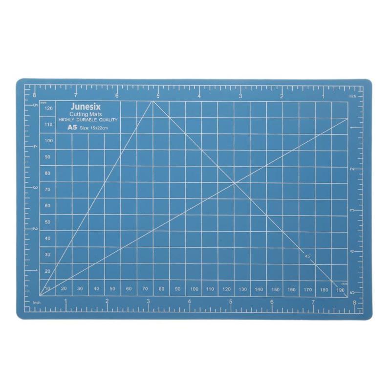 PVC Double Side Self-healing A5 PVC Cutting Mat Pad Patchwork Cut Pad A5 Patchwork Tools Manual DIY Tool Cutting Board