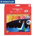 STAEDTLER LUNA137 C48 водорастворимые цветные карандаши для рисования канцелярские школьные офисные товары для рукоделия 48 цветов