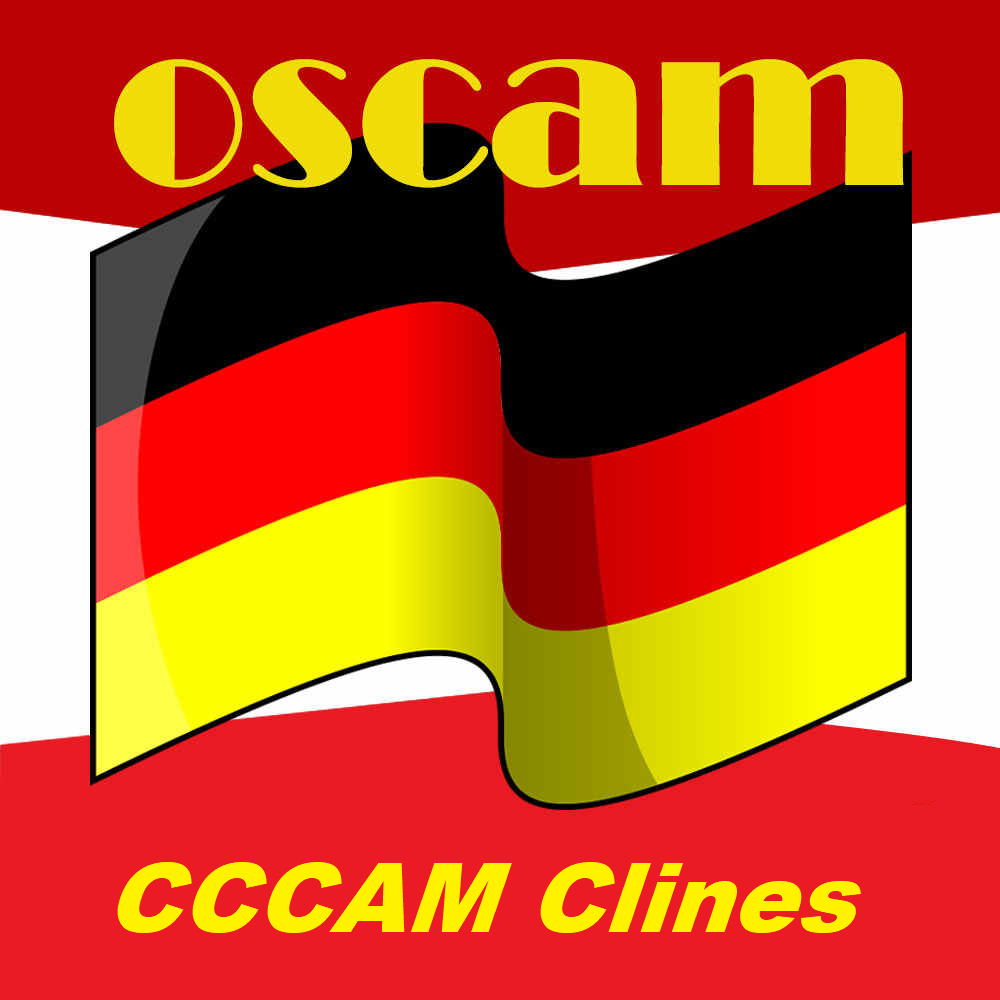 OSCAM MGCAM CCCAM Clines For HD Satellite TV Receiver Europe Africa Clines Germany Spain Poturgal Poland Africa