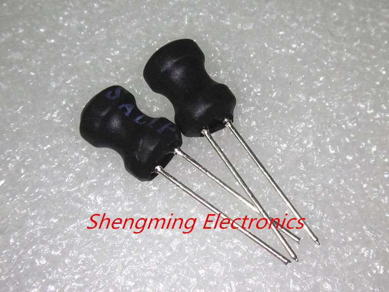 0810 Choke Radial Lead Power Inductor Coil 8*10mm 1mH//2.2mH//3.3mH//4.7mH//10mH