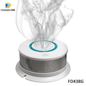 High sensitivity GSM/GPRS smart smoke detector support SMS/voice monitoring/center network
