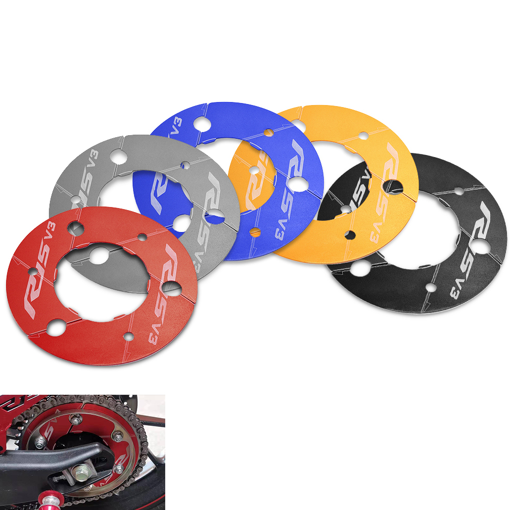 RD Bjmoto Rear Sprockets Decorative Cover for Yamaha YZF R15 V3 2017 2018 2019 2020 Motorbike Motorcycle Chain Gear Protector