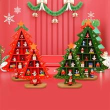 DIY Рождественский подарок, игрушка для дома, деревянная елка, ручной работы, стол, забавные рождественские игрушки для детей, kinderspeelgoed jouet enfant