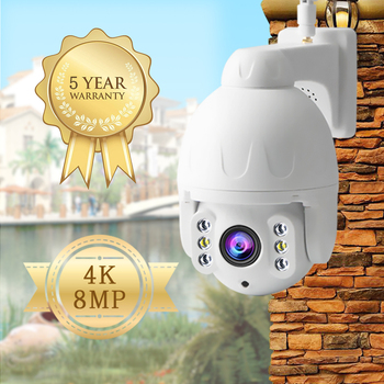 IP camera 8mp 4k/1080P Wifi Camera Outdoor camera color night vision Wifi PTZ Security Speed Dome Camera 360 camera cctv camera zwo asi385mc camera color