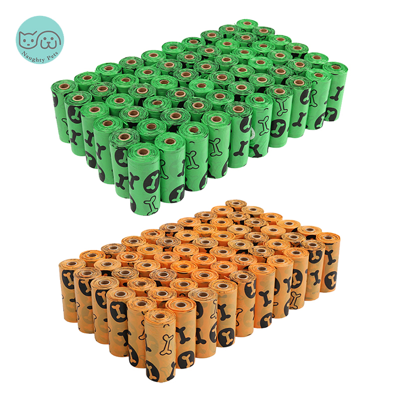 Biodegradable Pet Dog Poop Bag Puppy Degradable ECO Friendly Waste Bags For Dogs Pets Products Outdoor Walking Garbage Bag