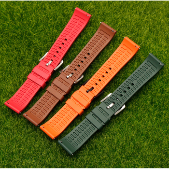 Smart Watch Band for Xiaomi Huami Amazfit GTS 20MM Quick release Sport Strap for Amazfit GTR 42mm/ BIP Rubber Bracelet Wristband