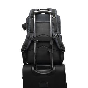 Image 5 - Multi funcional à prova dwaterproof água saco da câmera mochila mochila grande capacidade portátil saco da câmera do curso para a fotografia exterior