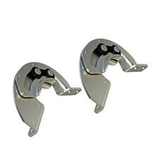 2 шт. CL119 скрытые раздвижные петли 90 градусов Концевая петля, R6 углеродистая сталь, промышленное оборудование дверная петля шкафа