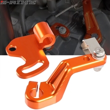 Motorcycle Accessories CNC Aluminum orange One Finger Clutch v2.0 compatible for 790 Adventure 890 Adventure 790 Adv 2020 2021