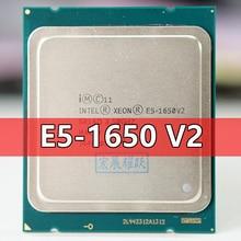 Intel Xeon işlemci E5 1650 V2 E5 1650 V2 CPU LGA 2011 sunucu işlemcisi 100% düzgün çalışıyor masaüstü İşlemci işe yarayabilir E5 1650V2