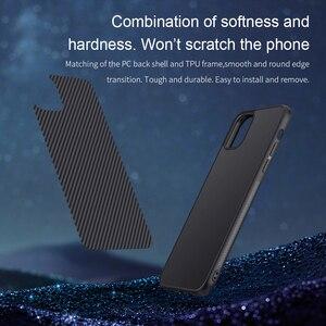 Image 2 - Capa para iphone 12 mini 11 pro max xr x xs max iphone11 embalagem nillkin fibra sintética de carbono plástico capa para iphone 11 caso