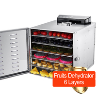 fruit dryer dehydrator vegetable drying machine stainless steel commercial meat herbal tea fish dryer food dehydrator 220V