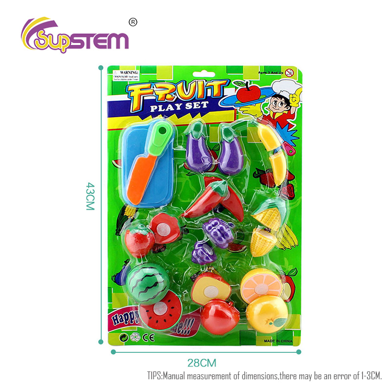 Pretend Play Set Food Kids Kitchen Vegetable Cutting Fruit Ninjaaaii Simulation Miniature Food Education Toys Girls Toys Gift image