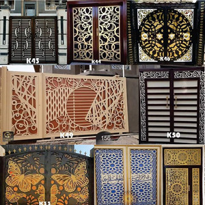 Image 5 - 2000 metal door home garden decor sheet dxf format 2d vector design drawing for CNC laser plasma cutting files collection