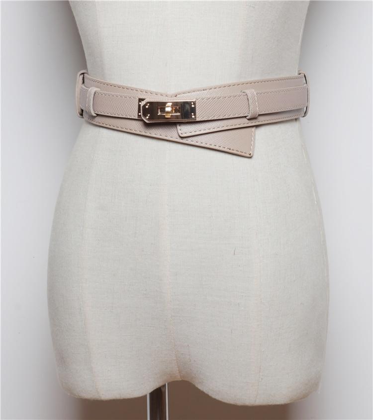 Fashion Women's Belt Horsehair Female Belts Pants Jeans Belt Girl Autumn Winter Dress Accessories SW109
