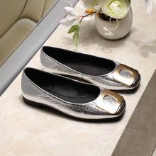 Flat-Shoes New-Arrival Casual Women with Upper Shoes-Color