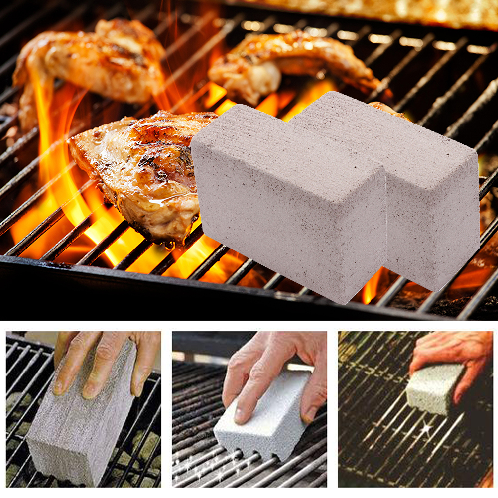 1 pc BBQ Cleaning Stone Non Slip Handheld Odorless Grill Clean ...