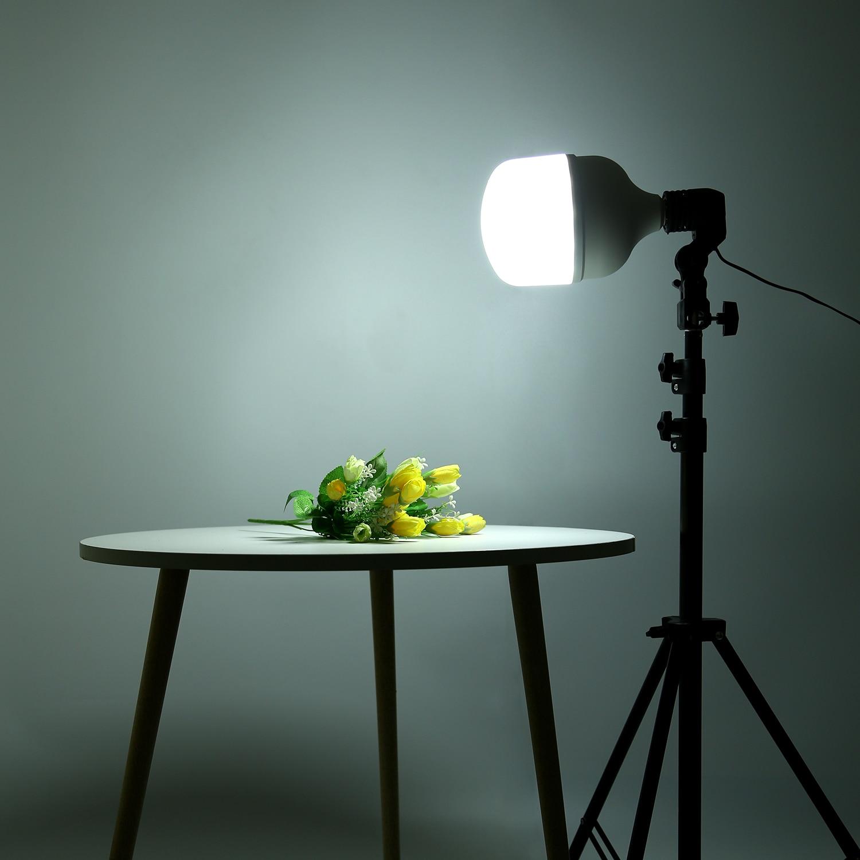 Фон для фотосъемки 50W светодиоидная лампа с регулируемой яркостью светодиодный лампа заполнить светильник с держателем и 160 см светильник ш...