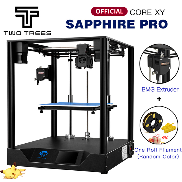 Twotrees 3D Printer CORE XY Sapphire Pro Printer BMG Extruder Corexy Guide DIY With MKS Robin Nano 3.5 Inch Touch Screen TMC2208
