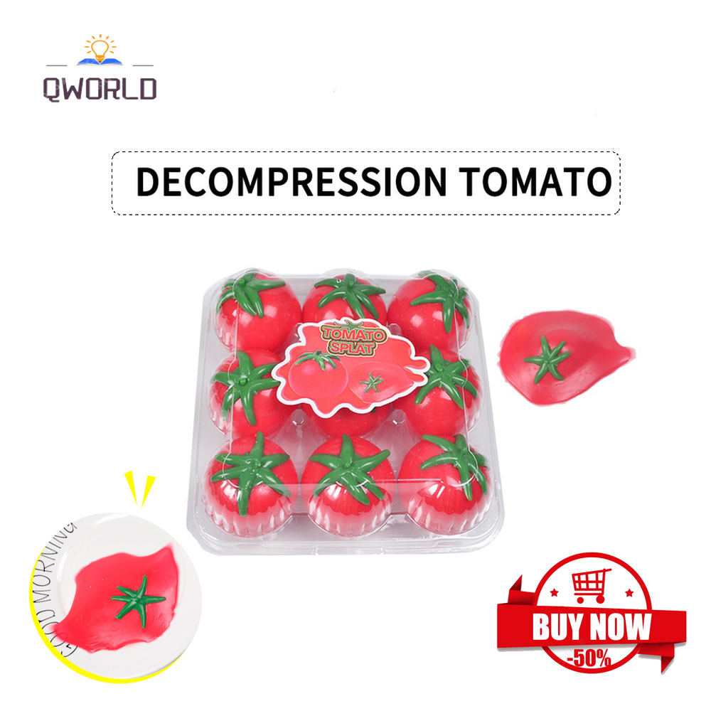 Decompression Simulation Water Tomato Adult Children Vent Ball Bor Squeezable Stress Release Anxiety Goes Away