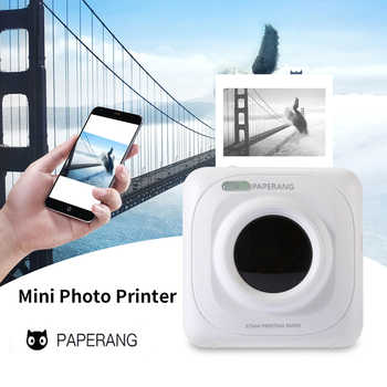 Portable Bluetooth Printer Mini Pocket Photo Printer Mobile Phone Pictures Thermal Printer For iOS Android Windows Handheld 58mm - DISCOUNT ITEM  39% OFF All Category